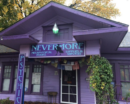 207 Birch St  - Nevermore Metaphysical Shop - Witchcraft and